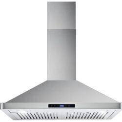 Cosmo 63175S 30 Inch 380 CFM Wall Mount Kitchen Range Hood