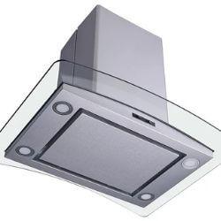 Winflo 30 Inch Convertible Stainless Steel Glass Island Range