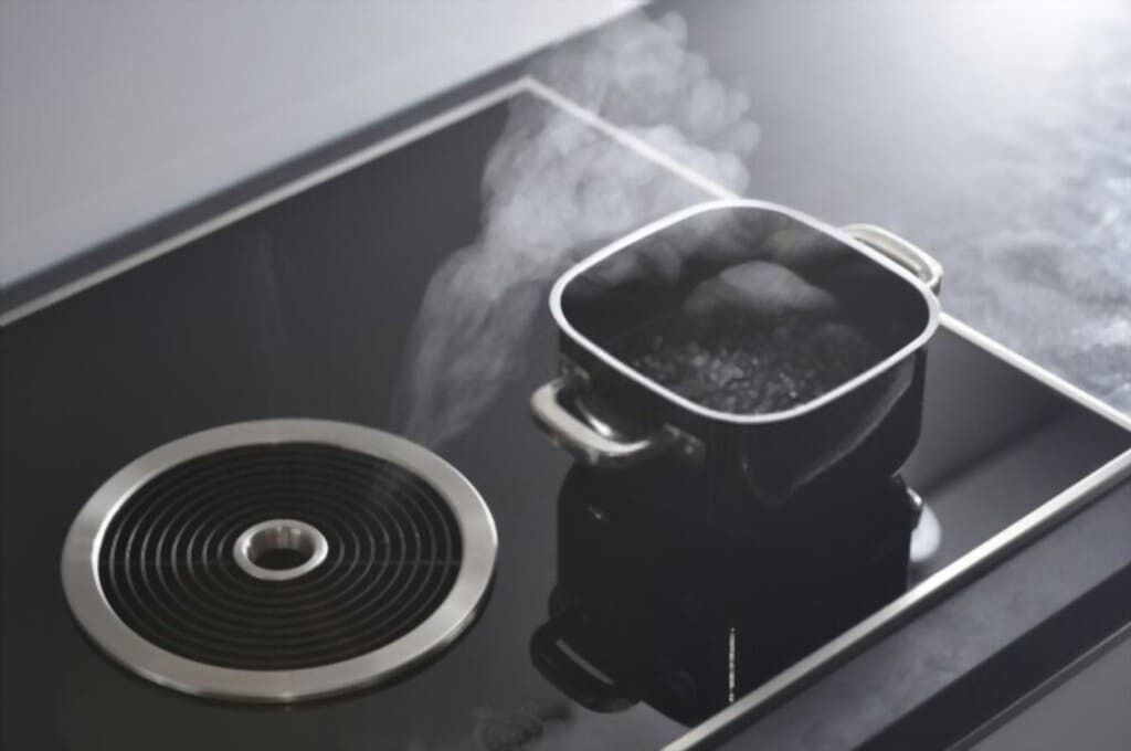 burners in cooktop